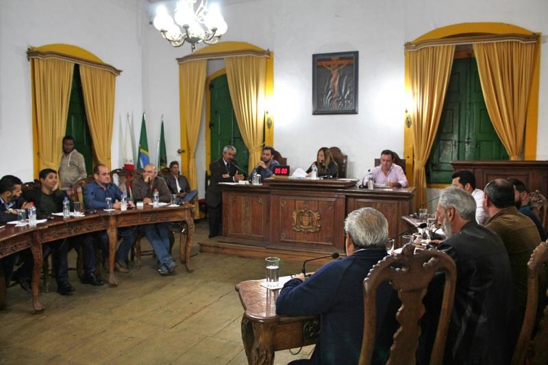 Vereadores participam de 22ª Reunião Ordinária