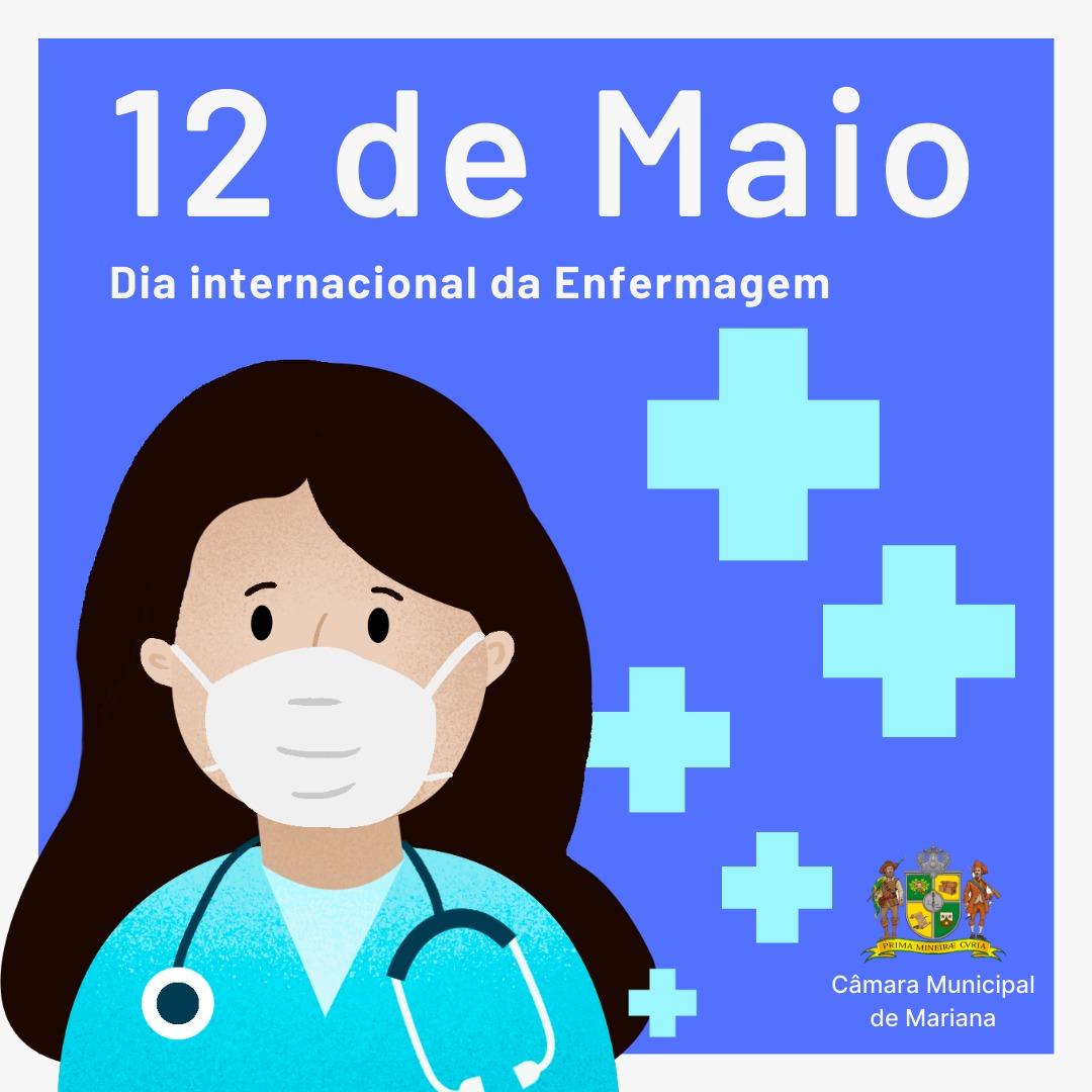 12 de maio - Dia Internacional da Enfermagem