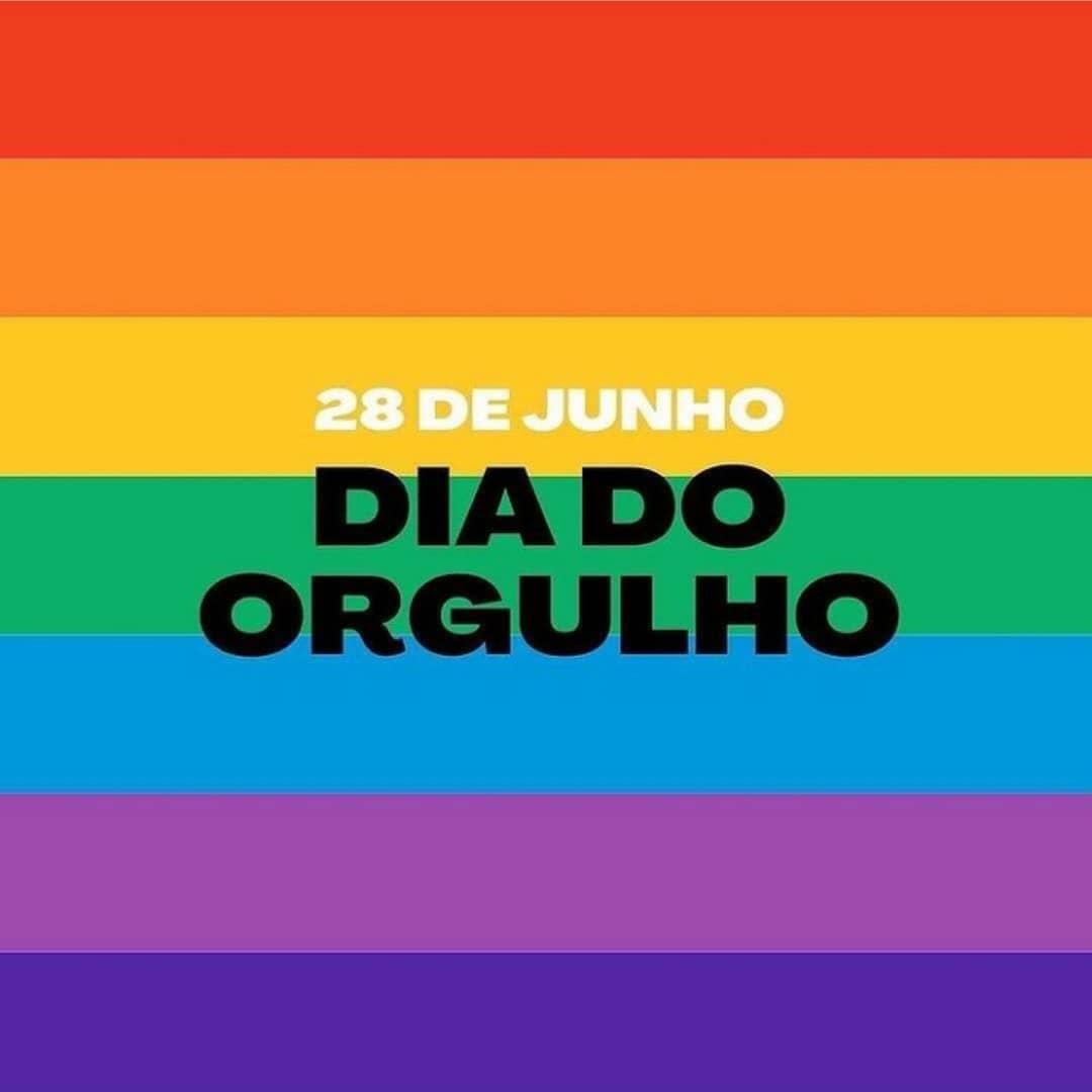 28 de junho - Dia do Orgulho LGBTQIA+