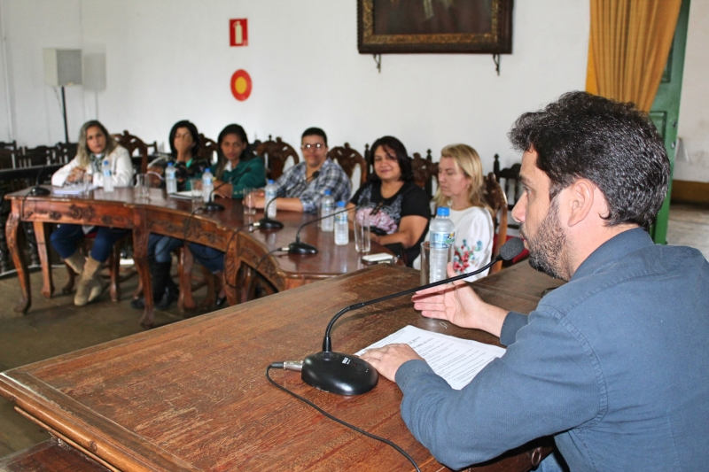 Vereador Juliano Duarte (Cidadania) foi o requerente da reunião.
