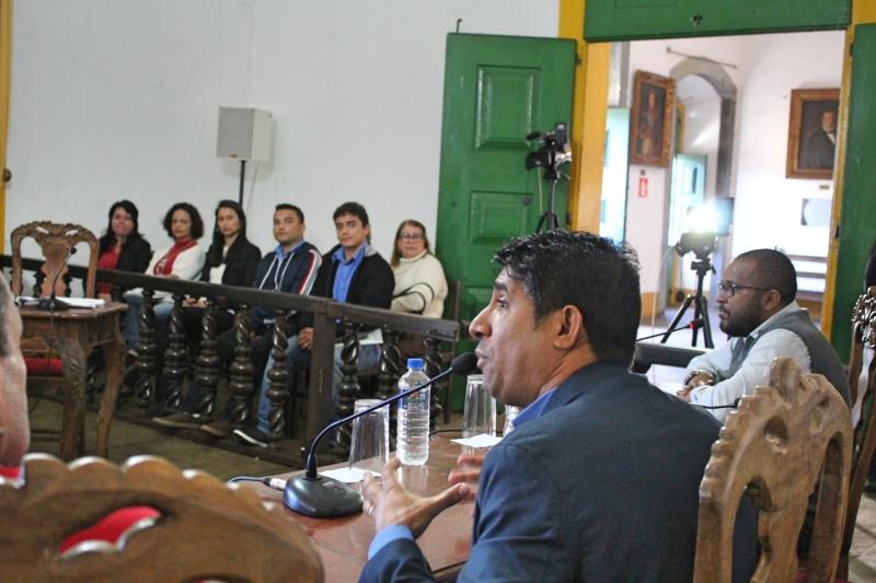 Vereador Antônio Marcos Ramos de Freitas (Cidadania) faz uso da palavra.