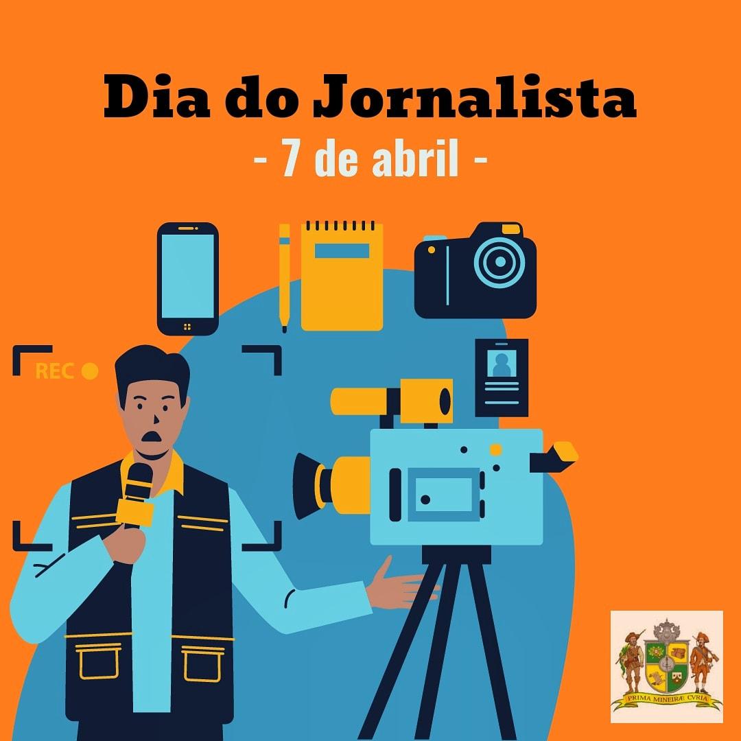 7 de abril Dia do Jornalista