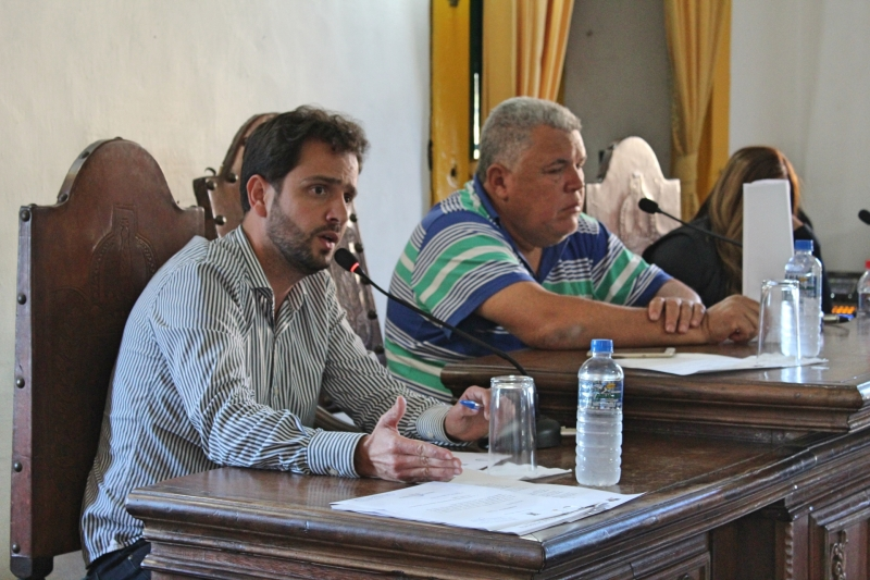 Vereador Juliano Duarte (Cidadania) foi o autor dos dois requerimentos aprovados.