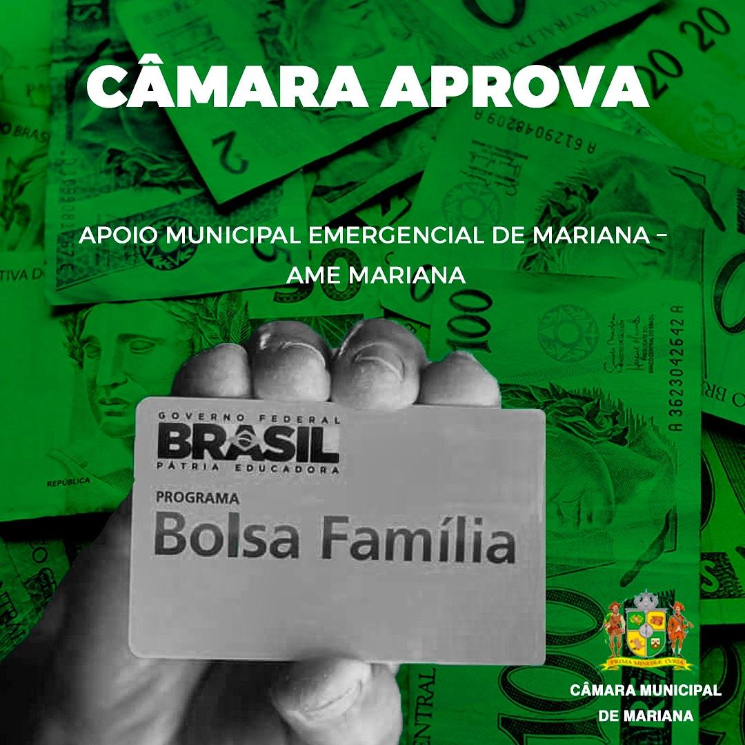 CÂMARA APROVA APOIO EMERGENCIAL MUNICIPAL
