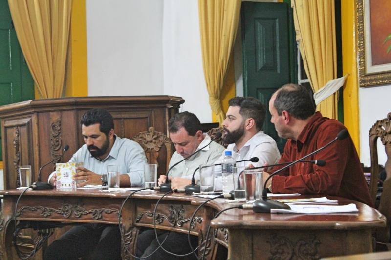 Vereador Cristiano Vilas Boas (PT) foi o requerente da discussão sobre UFOP.
