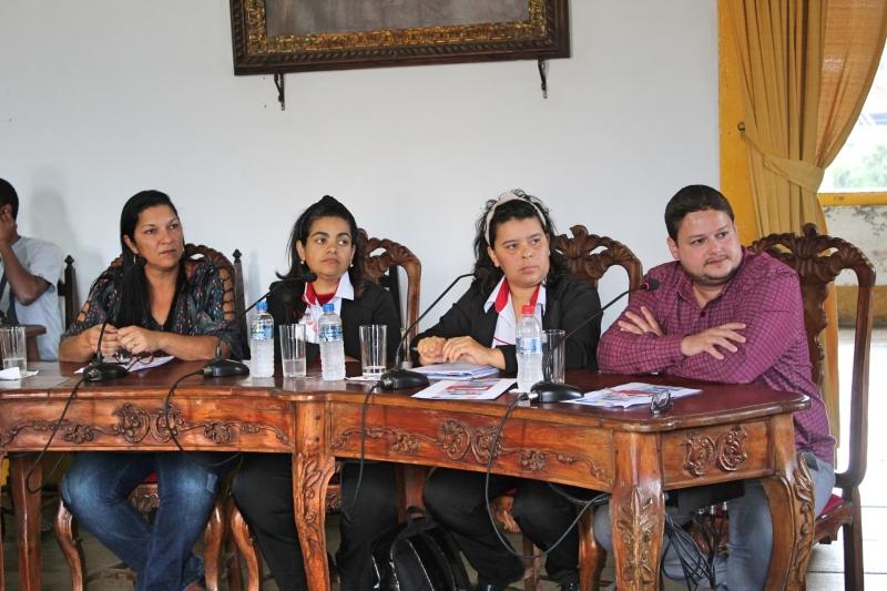 Participaram, também, representantes do Executivo e do Hospital Monsenhor Horta.