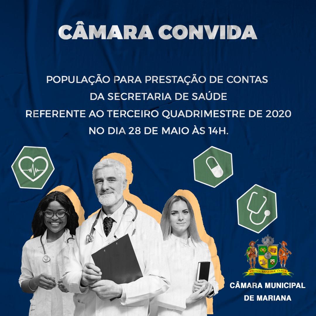 SECRETARIA DE SAÚDE REALIZA PRESTAÇÃO DE CONTAS NESTA SEXTA-